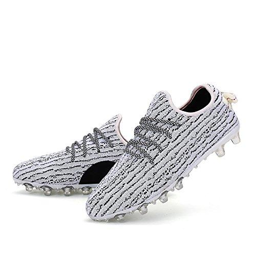 Xing Lin Zapatos De Fútbol Nuevos Zapatos De Fútbol Uñas Rotas Volar Tejer Malla Transpirable Zapatos De Formación Los Alumnos De Escuelas Primarias Y Secundarias De Formación De Adultos De Cuero Anti