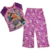 One Direction Girls 4-14 Animal Print Poly Pajama Set (7/8)