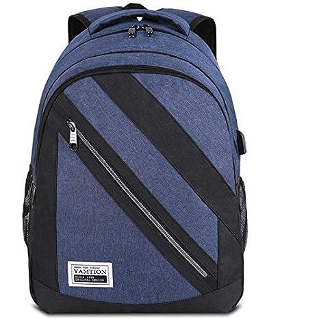 c7b3b5c0e0abf9 YAMTION Zaino Laptop, Zaino PC da 15.6 Pollici con porta USB Zaino  Università per Uomo