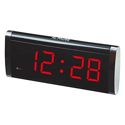 GAOHL Reloj LED digital, reloj de escritorio , red