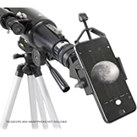 "Celestron 81035 Basic Smartphone Adapter 1.25"" Capture Your Discoveries, Black"