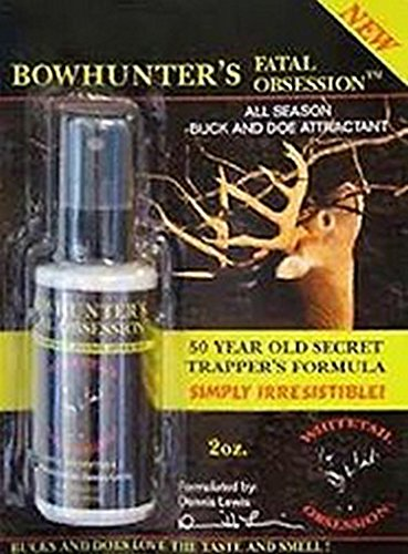 Whitetail Obsession Bowhunter Fatal Obsession 2oz