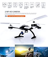 Drone with Camera for Sale - 509V Quadcopter RC Drones Helicopter - Beautiful HD Cam, Air Pressure Sensor Altitude Lock, Easy Control Headless Mode, Return Home Key, 6 Axis Gyroscope, USA Warranty by KiiToys