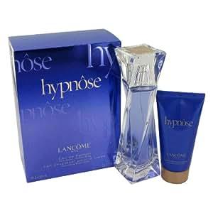 HYPNOSE by Lancome Gift Set for WOMEN: EAU DE PARFUM SPRAY 1.7 OZ & BODY LOTION 1.7 OZ & SHOWER GEL 1.7 OZ & POUCH