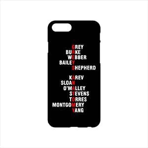 Fmstyles - iPhone 7 Mobile Case - Greys anatomy cast names