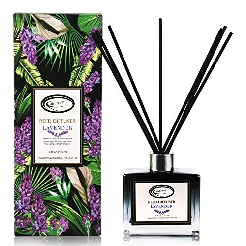 Airbreezy Fragrances Reed Diffuser Set with Sticks