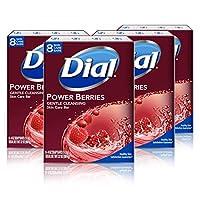 Dial Skin Care Bar Soap, Power Berries, 32 Bars