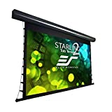 Elite Screens Tab-Tensioned Front Motorized Home Theater Projection Screen (STT120UWH2-E12)