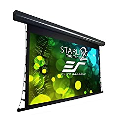Elite Screens Starling Tab Tension 2 135 16 9 6 Drop Tensioned Electric Motorized Projector Screen Stt135uwh2 E6