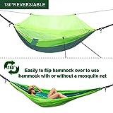 WOVUU Camping Hammock with Net,Lightweight Outdoor
