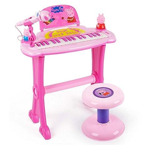 YYWJ Piano de Juguete 32 Teclas de Piano Juguete para Piano Teclado para niños pequeños 3
