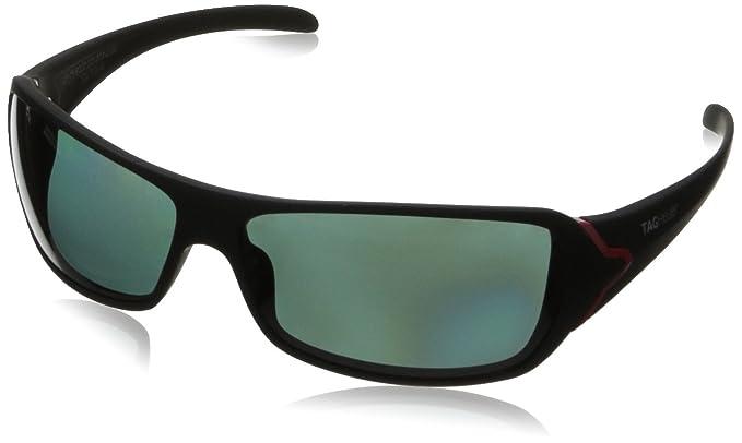 Tag Heuer Racer Plastic Negro Hombre Gafas de sol: Amazon.es ...