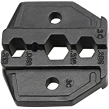 Klein Tools VDV211-037 RG0-92644-58/59/62 Coaxial Cable Die Set for VDV200-010 Replacement Ratcheting Crimping Frame with Hex Crimp Connectors