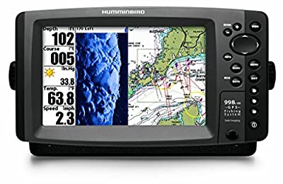 Humminbird 998c HD SI Fishfinder/GPS Combo with Side Imaging (408720-1) by Hummingbird