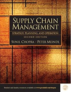 Supply chain management 3rd edition sunil chopra peter meindl supply chain management strategy planning and operations second edition fandeluxe Choice Image