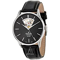 Edox Mens Les Vauberts Automatic Watch (Black)