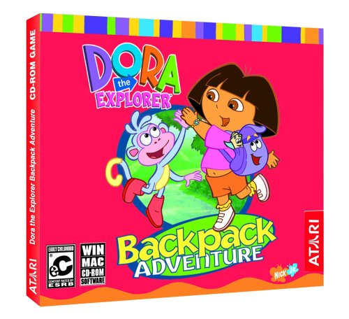 Dora the Explorer: Back Pack Adventure (Jewel Case) - ()