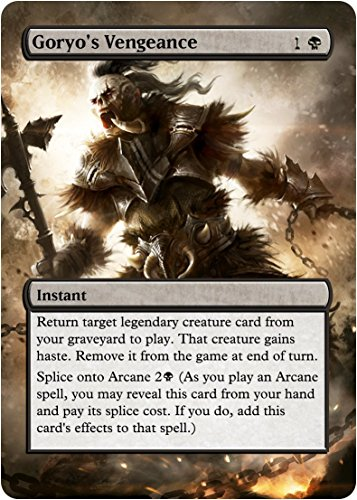 Goryo's Vengeance - Edh Casual Play Only - Art Overlay - Non - Import It All