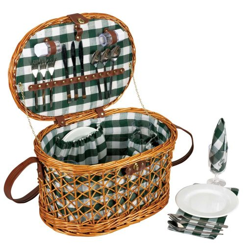 Household Essentials Willow Picnic Service