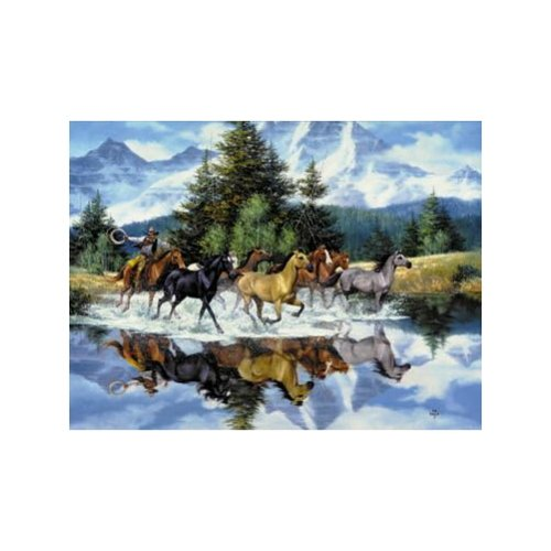 The Wild Ones 1000 Piece Jigsaw Puzzle