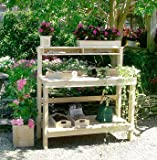 Cedar Wood Creek Valley Potting Bench