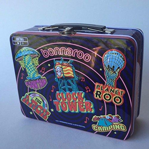 Bonnaroo Metal Lunchbox, Bonnaroo Collectible, TN Rock Festival Lunchbox