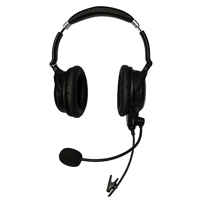 Amazon.com: UFQ A7 ANR Aviation Headset- Compare with QC25 Together with U Fly Mike A7 Could be a Small Version XXXX XXX BUT More Comfortable Clear ...