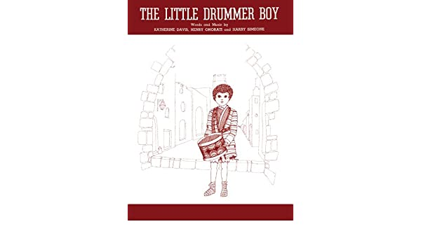 Amazon The Little Drummer Boy Pianovocal Sheet Music