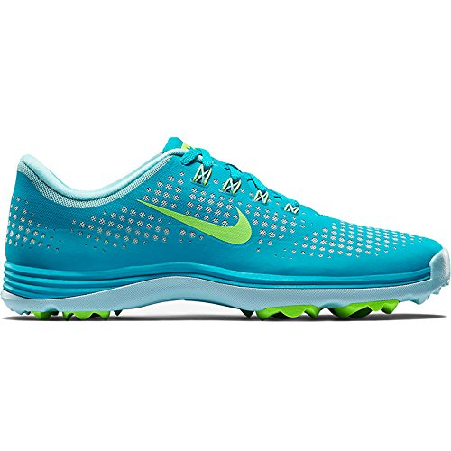 NIKE DAMEN LUNAR EMPRESS WEIß/VOLT/SCHWARZ Blue Lagoon/Ice Cube/Flash Lime