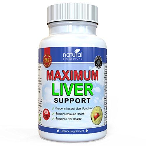 Intestinal Detoxifier - MILK THISTLE LIVER CLEANSE DETOX DETOXIFIER REGENERATOR CAPSULES by Natural Biomedical