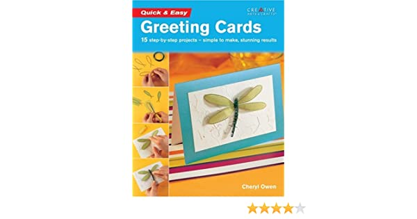 Quick easy greeting cards cheryl owen 9781580112109 amazon quick easy greeting cards cheryl owen 9781580112109 amazon books m4hsunfo