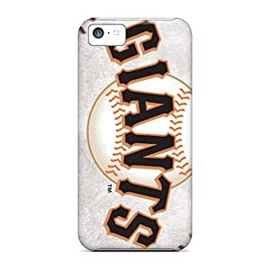 Defender Case For Iphone 5c, San Francisco Giants Pattern