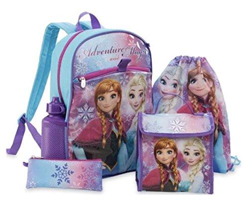 Frozen Disney Backpack School Supplies Set for Girls