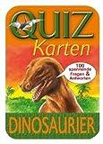 Quizkarten Dinosaurier. 100 spannende Fragen und A