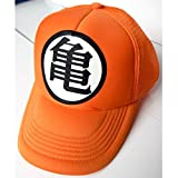 Dragon Ball Gorra Trucker Camionero Goku Kame Roshi Broche Ajustable