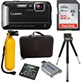 Panasonic DMC-TS30R LUMIX Active Lifestyle Tough Camera (Black) w/Action Bundle