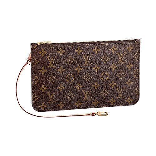 Authentic Louis Vuitton Neverfull MM Monogram Canvas Beige Handbag Article:M40995 by Louis Vuitton (Image #1)