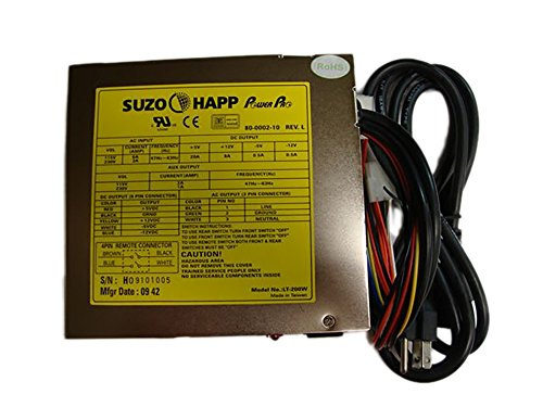 Power Pro Dual Switch Power Supply - 200W by Suzo Happ