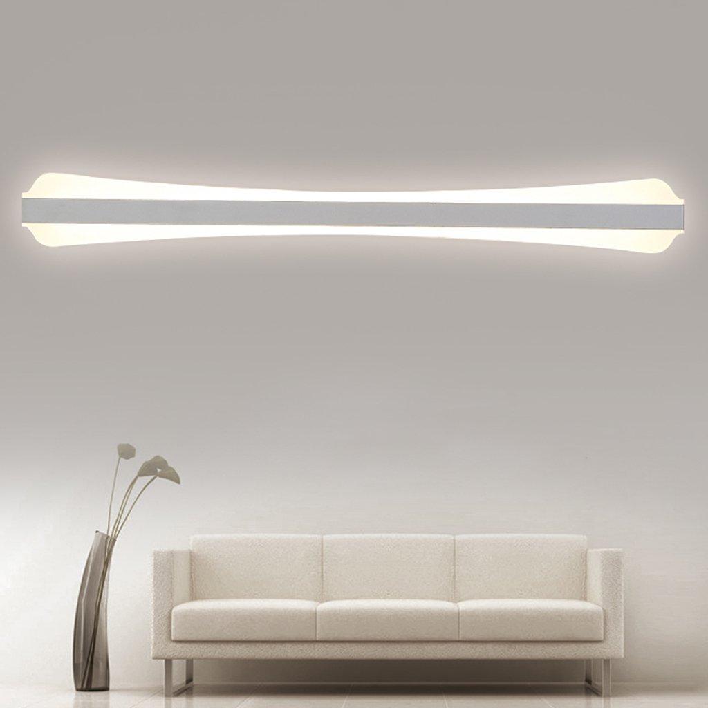 ミラーLEDライト、高輝度、浴室トイレシンク、鉄ランプボディペイント、防水、屋内照明、壁、ホワイト23W60cm ( Color : 60cm-warm light ) B07B9RW2XJ 15099  60cmwarm light