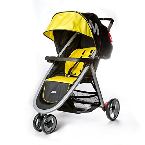Mia Moda Elite Lightweight Stroller, Yellow