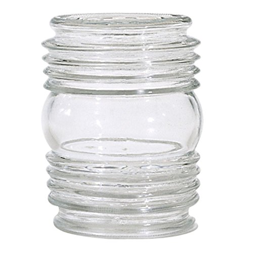 Clear Cylindrical Glass Shade Opening product image