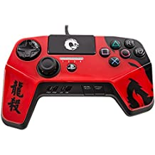 DRAGON SLAY FightPad Elite for Playstation 4 PS4 and Playstation 3 - Officially Licensed by Sony (RED)