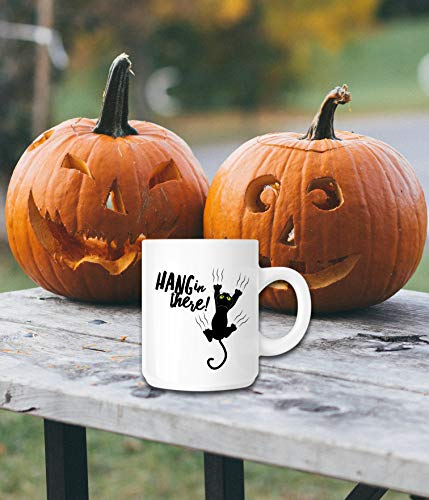 Halloween Mug - Black Cat Lover - Hang
