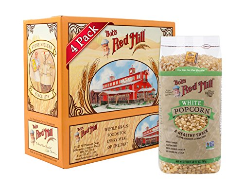 Bob's Red Mill Whole White Popcorn, 27 Oz (4 Pack) (Best Tasting Popcorn Kernels)