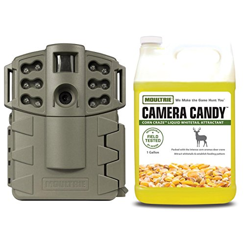 Moultrie Game Spy A-5 Gen2 Infrared Game Camera + Camera Candy Deer Attractant