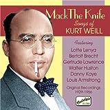 クルト・ワイルの歌曲集(1929-1956) (Mack The Knife)