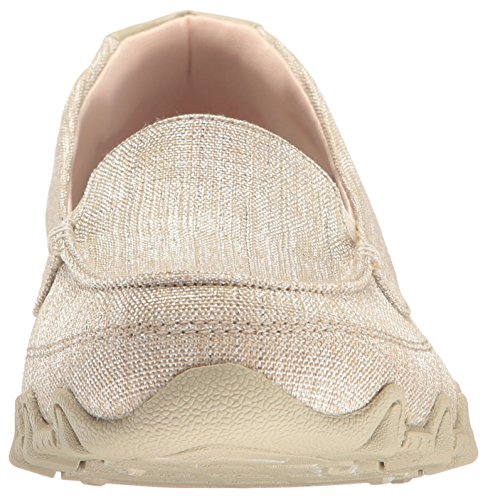 Skechers Frauen-Bikers-Yacht Spot Slip-on Loafer, Natural