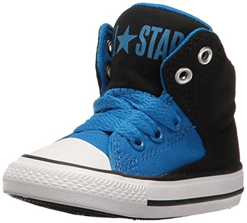 Converse Infant Chuck Taylor All Star High Street Hi Fashion Sneaker - Obsidian/Red/Blue - Boys - 7