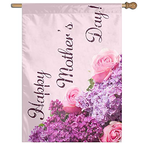 (Garden Flag Mothers Day Lawn Banner Outdoor Yard Home Flag Wall Decoration Flag 27