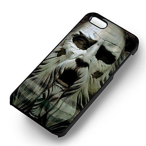 Unique Harry Potter Chamber pour Coque Iphone 5 or Coque Iphone 5S or Coque Iphone 5SE Case (Noir Boîtier en plastique dur) F1V4DG